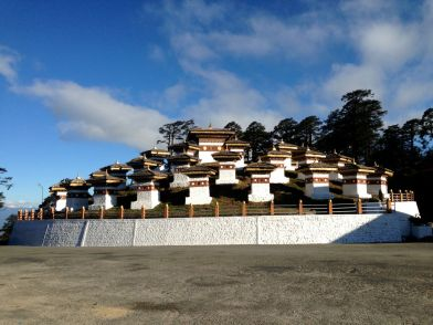 108 Stupas Bhutan