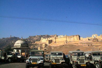 Amer Fort Jeeps