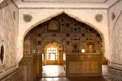 Amer Fort Sheesh Mahal Door