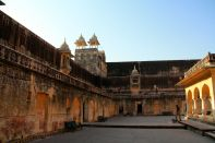 Amer Fort Third Courtyard view