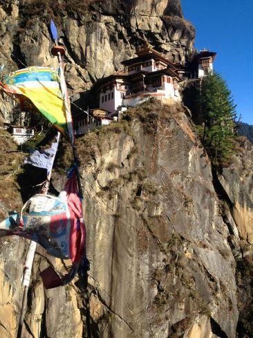Bhutan Tigers Nest Cliff