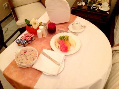 Room service breakfast!