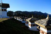 Dochula Pass 108 Stupas View 3 Bhutan