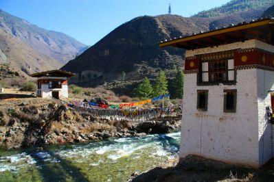 Iron Bridge Bhutan