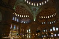 Istanbul Blue Mosque Inside