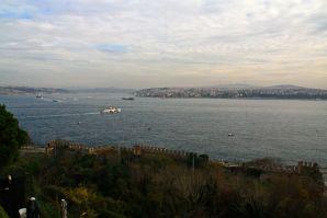 Istanbul Topkitpa Palace View