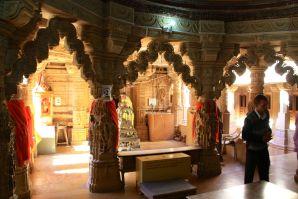 Jaisalmer Fort Jain Temple Interior