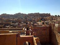 Jaisalmer Patwa Haveli Roof View Fort