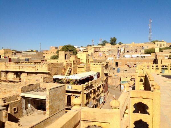 Jaisalmer Patwa Haveli Roof View