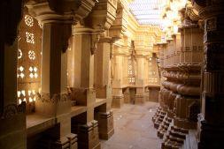 Lodurva Jain Temple Walkway