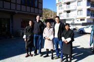 With Thinley, Bill, Tshenten, and Shatu