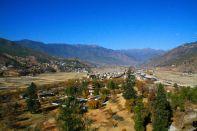 Paro City View Bhutan