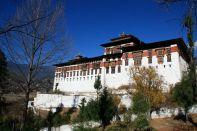 Paro Dzong Side Bhutan