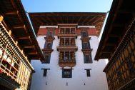 Paro Dzong Tower Bhutan