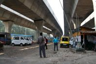 Calcutta India Underpass