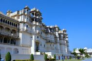 City Palace Udaipur Exterior