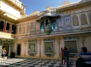City Palace Udaipur Small Courtyard
