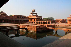 Fatehpur Sikri Courtyard