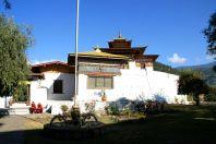 Punakha Dzong Bhutan Courtyard