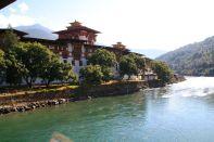 Punakha Dzong Bhutan River