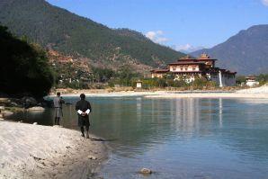 Punakha Dzong Bhutan Riverview