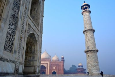 Taj Mahal Pillar