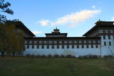 Thimphu Dzong Exterior
