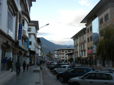 Thimphu Street Bhutan