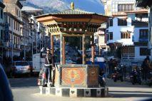 Thimphu Traffic Cop Bhutan