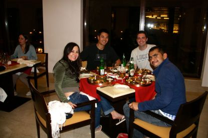 Dinner at the Trident Agra