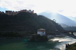 The Skeleton of the Wangdue Dzong