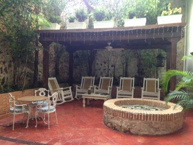 Casa Quero Courtyard Cartagena