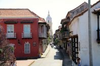 Cathedral of Cartagena Street