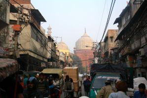 Jama Masjid from the street