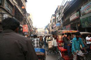 On a cycle-rickshaw