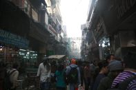 Exploring the streets of Old Delhi