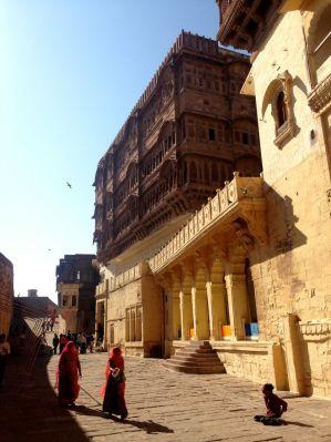 Mehrangarh Fort Inner Wall