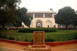 Red Fort Delhi World Heritage Sign