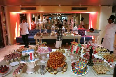 Sofitel Snacks New Years in Cartagena