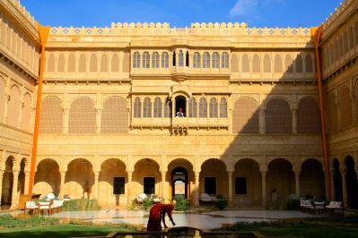 Suryagarh Courtyard
