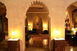 Suryagarh Lobby area