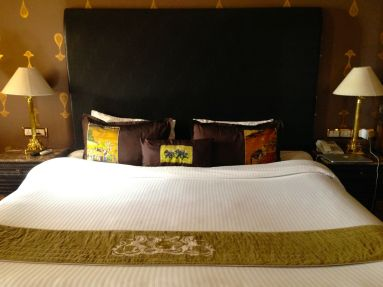 Suryagarh Master Bed