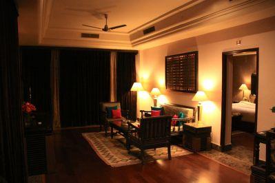 Suryagarh Suite Living Room