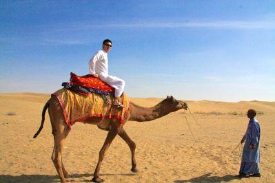 Thar Desert Camel and David