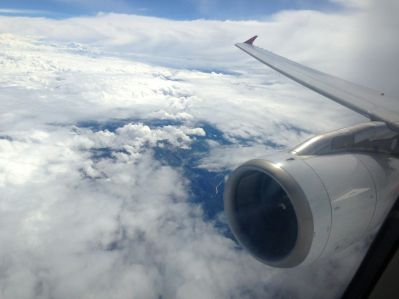 Avianca Flight to Cusco Clouds