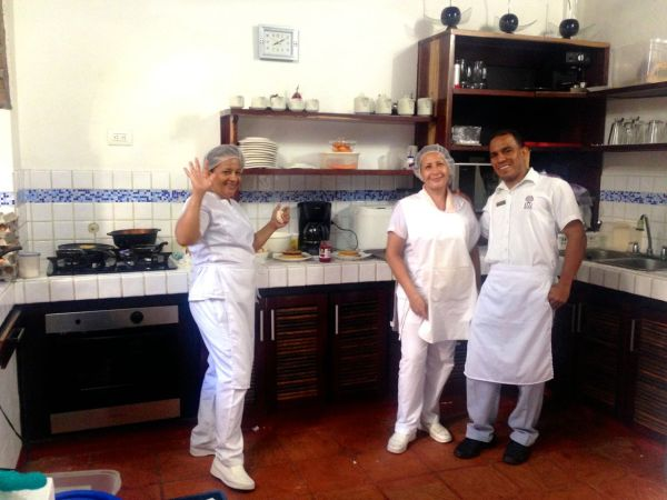 Casa de Isabella Restaurant Team