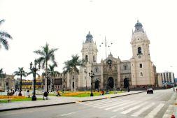Cathedral of Lima in Plaza di Armas