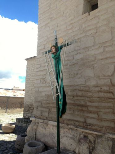 Chivay Church Cross