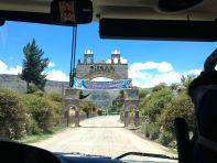 Entering Chivay