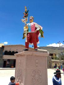 Chivay Statue